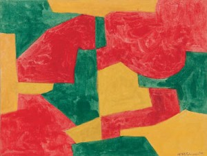 Serge Poliakoff. Composition 1964.