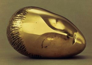 Constantin Brancusi. La muse endormie.