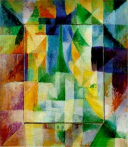 Robert Delaunay. Les Fenêtres Simultanees. 1912