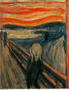 Munch. Le cri.