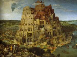 P. Brueghel l'Ancien. 1525.1569. La Tour de Babel. 1563. Vienne.