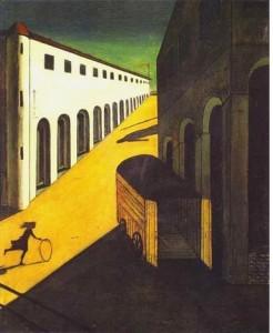 Giorgio Chirico. Mystère et mélancolie d'une rue. 1914.