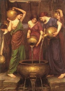 Les Danaïdes. John William Waterhouse.