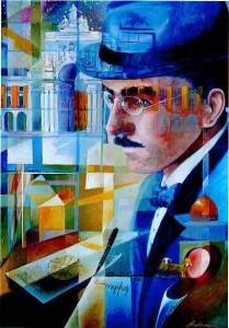 Fernando Pessoa par Maria Luisa Bonini.