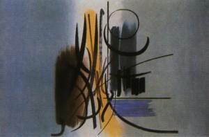 Hans Hartung. affiche 1951.
