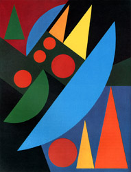 Auguste Herbin. 1882.1960. Pluie. 1956.