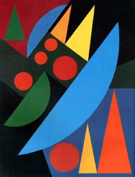 Auguste Herbin. 1882.1960. Pluie. 1956.