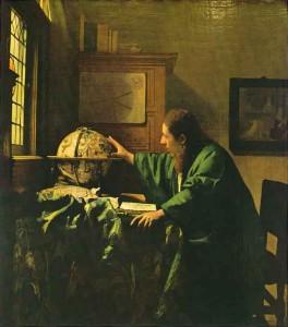 Johannes Vermeer. 1632.1675. L'astronome. 1668. Musée du Louvre.