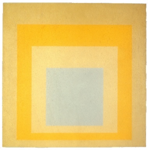 Josef Albers. Homage to the square with rays.