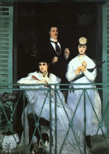 E. Manet. Le balcon.1868.1869. Muse d'Orsay.