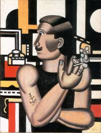 Fernand Léger. Le mécanicien. 1920. Musée des beaux-arts du Canada. Ottawa.