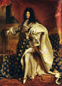 Hyacinthe Rigaud. Louis XIV. 1701. Louvre.