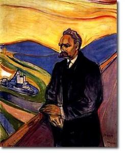 Nietzsche par E Munch.1906. Munch muséum Oslo. Norvège.
