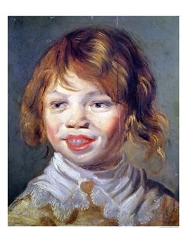 The laughing child Franz Hals. www.allposters.fr