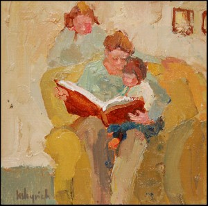 Toile de Lesley Rich. lali.toutsimplement.be/?m=20080511