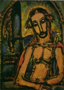 Georges Rouault. Ecce homo. 1937.1941. Musée national d'art moderne. Paris.