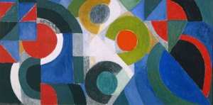 Sonia Delaunay. Composition. 1964.