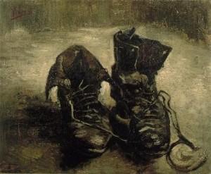 Van Gogh. Une paire de chaussures. 1885. Musée Van Gogn d'Amsterdam.