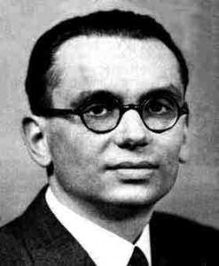 Kurt Gödel. 1906.1978.