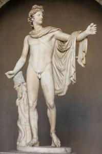Apollon du Belvédère. Vatican.