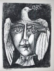 Picasso, le viage de la paix, lithographie, 1951.