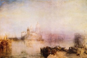 William Turner. 1775.1851. Venise, Dogana e Santa Maria della salute. 1843. Gallerie nationale d'art. Wasington