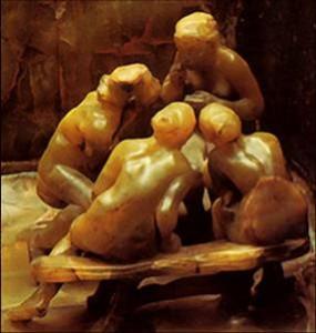 Les Causeuses. Camille Claudel. 1897. Musée Rodin.