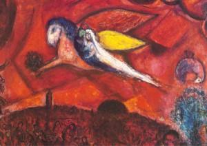 Marc Chagall. Le cantique des cantiques, IV, 1958. Musée national de Nice.