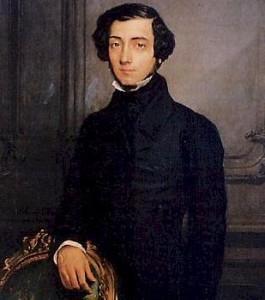 Alexis de Tocqueville.1805.1859. Portrait par Théodore Chasseriau. 1850. Musée des châteaux de Versailles et Trianon.