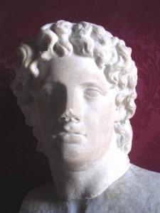 Buste d'Alcibiade.