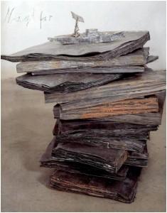 Anselm Kiefer. naglfar, 1998.