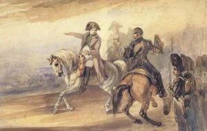 Napoléon donnant des ordres. Piotr Michalowski au musée Delacroix. Janvier 2005.