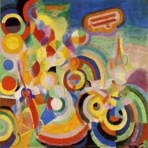 Robert Delaunay. 1885.1941. Hommage à Blériot. 1914.