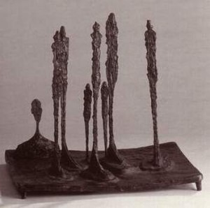 Alberto Giacometti. La forêt. Bronze. 1950. Photo Talmotyair, 2006.