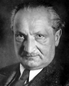 Martin Heidegger. 1889.1976.