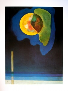Kandinsky. Cercle jaune. 1926.