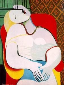 Picasso. Le rêve 1932.