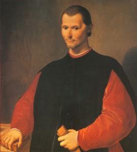 Portrait de Nicolas Machiavel par Santi di Tito. Palazzo Vecchio. Florence.