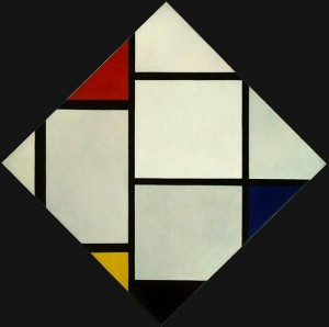 P. Mondrian. 1872.1944. Composition 1924.25. National Gallery of art.