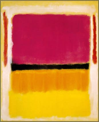 Marc Rothko. Red, Orange, Tan and Purple. 1949. Collection privée.
