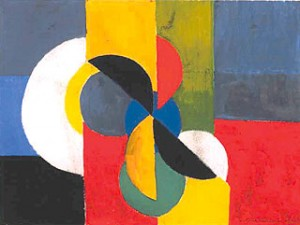 Sonia Delaunay. 1885.1979. Composition 1954.