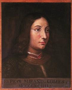 Pic de la Mirandole. 1463.1494.