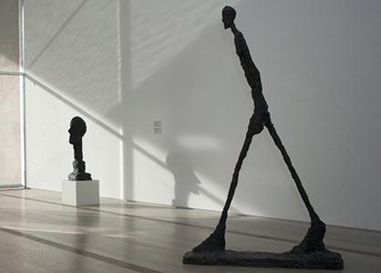 » Giacometti. L'homme qui marche. Propriété de la ...